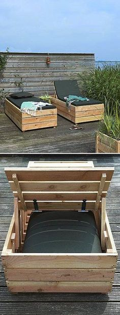 pallet pool lounges