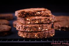 Chocolate Peanut Butter Cookies #justeatrealfood #wholefoodsimply