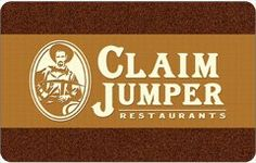 Claim Jumper Gift Card  Order at http://www.amazon.com/Claim-Jumper-Gift-Card/dp/B002W8YL6W/ref=zg_bs_2973100011_82?tag=bestmacros-20