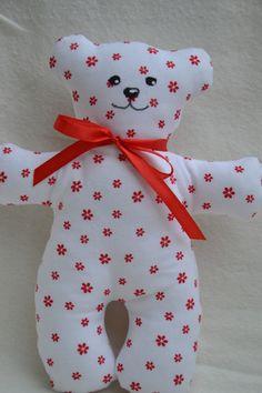 Medvídek Mrňousek / Zboží prodejce jijinkuvsvet | Fler.cz Dinosaur Stuffed Animal, Pillows, Toys, Animals, Stitching, Activity Toys, Animales, Animaux, Clearance Toys