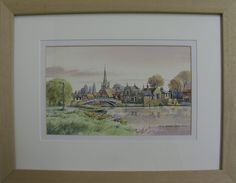 http://www.bramptonpictureframinggallery.co.uk/page/artists  Watercolour of The Chinese Bridge by Fred Betteridge. Framed by Brampton Framing. Available to view in our gallery. £75  65 High Street Brampton Huntingdon Cambridgeshire England PE28 4TQ