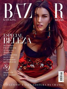 Fashion Magazine Cover, Fashion Cover, Vogue Magazine, Magazine Covers, Model Magazine, Awesome Kate, Cameron Russell, Vogue Spain, Beauty