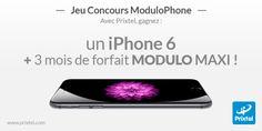 [Jeu Concours JDG] Jouez à ModuloPhone de Prixtel et remportez un iPhone 6 et 3 mois de forfait Modulo