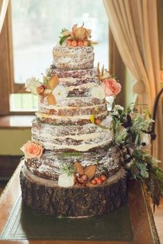 Naked Cake {Cake by Sugar} by jillian