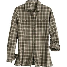 Women's Modern Flannel Shirt, Duluth Trading Company