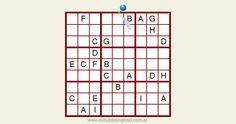 Fácil letradoku interactivo on-line. Juega y comparte. #sudoku