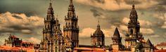Catedral de Santiago de Compostela en Santiago de Compostela