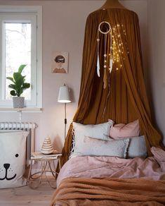 Boho bedroom with linen canopy. Source by donnettad kids bedroom Decor Room, Bedroom Decor, Home Decor, Modern Bedroom, Playroom Decor, Kids Decor, Girls Bedroom, Hippie Bedrooms, Childs Bedroom