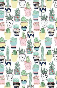 Image de wallpaper, background, and cactus Tumblr Wallpaper, Screen Wallpaper, Cute Backgrounds, Wallpaper Backgrounds, Cactus Wallpaper, Succulents Wallpaper, Bold Wallpaper, Cartoon Wallpaper, Wallpaper Ideas