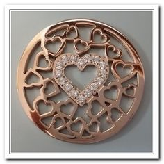 Stone Heart, Coin Collecting, Look Fashion, Jewelry Collection, Coins, Jewelry Design, Fashion Jewelry, Sparkle, Rose Gold