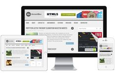 AccentBox A Free Responsive Blog WordPress Theme with Powerful Features