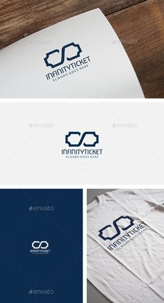 Infinity Ticket Logo — Vector EPS #media #growth • Available here → https://graphicriver.net/item/infinity-ticket-logo/12423077?ref=pxcr