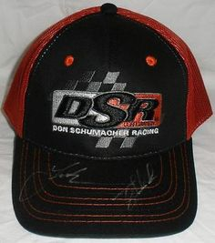 Racing-NHRA 2878: Leah Pritchett Tony Schumacher Signed Nhra Don Schumacher Racing Hat Top Fuel -> BUY IT NOW ONLY: $40 on eBay!
