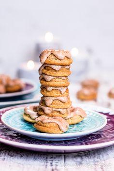 """Trommelwirbel... es gibt köstliche Kardamom-Mini-Donuts aus dem Buch von meinem lieben Bloggerfreund Markus, """"Backen mit dem Backbuben""""."""