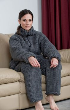 Full Body Sweater..ugly..but looks very comfy.