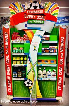 Celebrate Every Goal Display at Walgreens