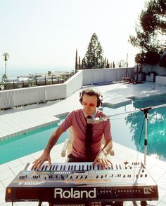 Giorgio Moroder in Los Angeles, 1982. Photo by Michael Ochs/Getty Images
