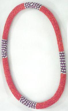 Collana a molla corta con Perline e Metallo - Perle di Bellezza...benessere online!