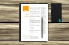 Check out this item in my Etsy shop https://www.etsy.com/nz/listing/294631639/orange-resume-cv-and-cover-letter
