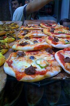 Sujuk, Armenian Sausage   here on pizza  from: www.antoniotahhan.com  Scroll down.