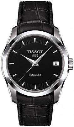 T035.207.16.051.00, T0352071605100, Tissot couturier automatic watch, ladies