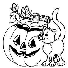 Halloween Malvorlagen – Ausmalbilder für kinder
