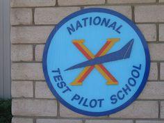 National Test Pilot School logo