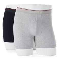 Men's Levi's 2-pack Stretch Boxer Briefs, Size: