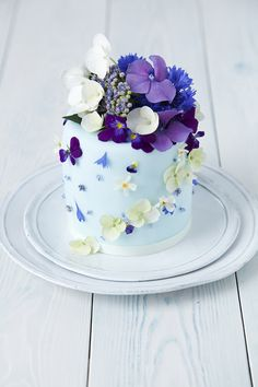 cake wedding, flower cakes, wedding cakes, blue cakes, fresh flowers
