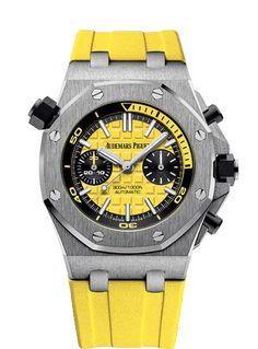 Audemars Piguet Royal Oak Offshore Diver Chronograph - yellow
