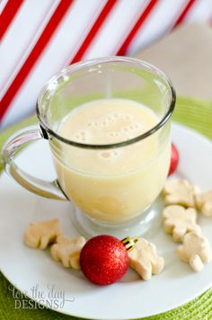 gingerbread white hot chocolate great idea...love gingerbread and I have these mugs