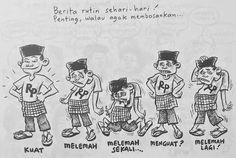 Benny & Mice, Lagak Jakarta: berita Rutin Sehari-hari