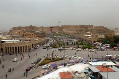 #world #news  As war wrecks ancient Iraq, Erbil works to rebuild citadel