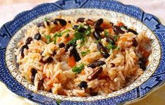 Confetti Rice with Black Beans   Mrs. Dash