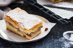 Christmas mince and apple shortcake Apple Shortcake, Shortcake Recipe, Impressive Desserts, Custard Powder, Fruit In Season, Christmas Desserts, Tray Bakes, Icing, Festive