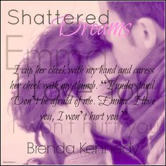 #Teaser Shattered Dreams by Brenda Kennedy-Author A soft romance that had me captivated..Read my verdict now live on the blog!   http://njkinny.blogspot.in/2014/12/shattered-dreams-freedom-trilogy-1-by.html Also enter the #Giveaway to win signed copies of the book, the complete Starting Over Trilogy and cool swag! Open only to US  #Romance #Series #Teasers #BlogTour #BookReview
