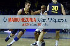 O Mario Hezonja λέει ψέματα. Δεν είναι 20 ετών