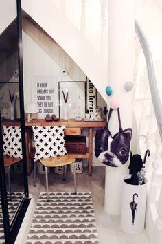 Benedicte and Daniel's Norwegian home on Design*Sponge