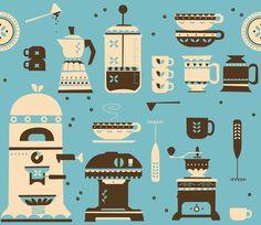 Coffee Paraphernalia   Art Print