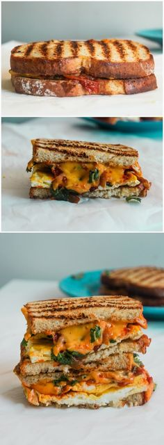 Loaded Mexican Egg and Cheese Melt ~ recipes food lovers