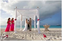Grace Bay Club, wedding set up, Turks and Caicos Islands