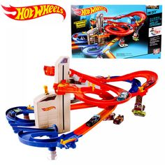 Hot Wheels Track Electric City Car Square Auto Lift Expressway Model Cars Hotwheels Voiture Car Toys For Kid Birthday Gift CDR08  Price: $ 83.99 & FREE Shipping   #computers #shopping #electronics #home #garden #LED #mobiles