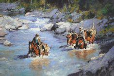 CMDudash - Western - Gallery2 MOVIN' DOWN RIVER
