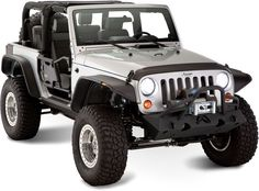 Jeep Wrangler- I normally prefer black jeeps, but I would definitely settle for silver.