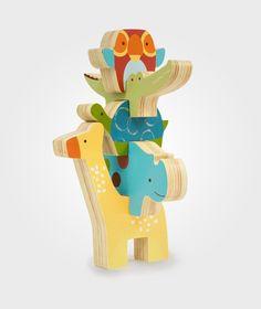 Skip Hop - Giraff Safari StapelKlossar (f.eks. Babyshop, finnes også på ellos.no)