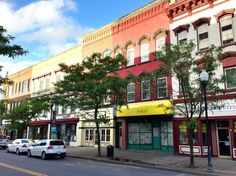 City of Plattsburgh- historic and beautiful downtown