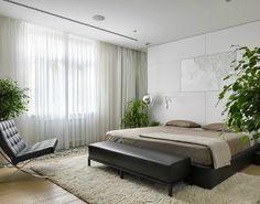 contemporary elegant apartment interior design by Fedorova 20