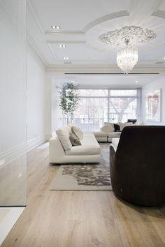 Charles Street Residence   Siberian Floors light oak