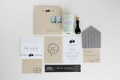 Invitation suite. A organic/romantic inspiration!