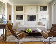 Learn how to choose the right artwork for your living room here: http://www.homedit.com/how-to-choose-art-for-your-living-room/